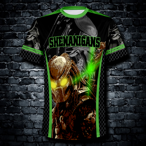 Sublimated crew neck jerseys $25